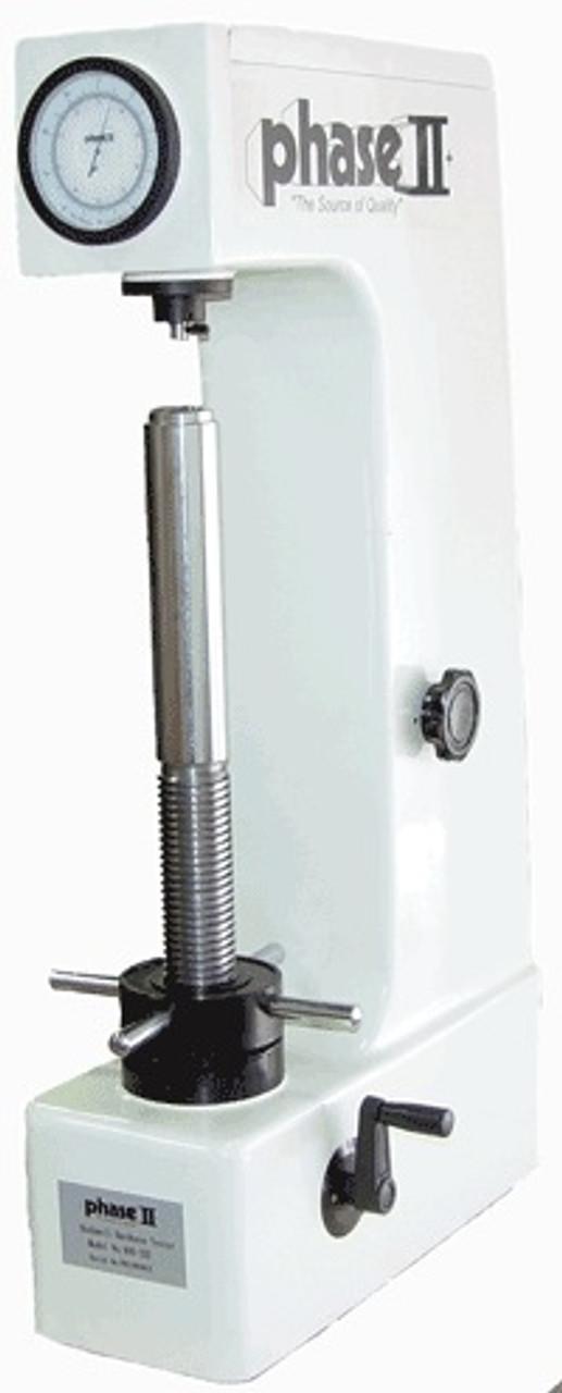 Phase II Tall Frame Analog Rockwell Hardness Tester - 900-332