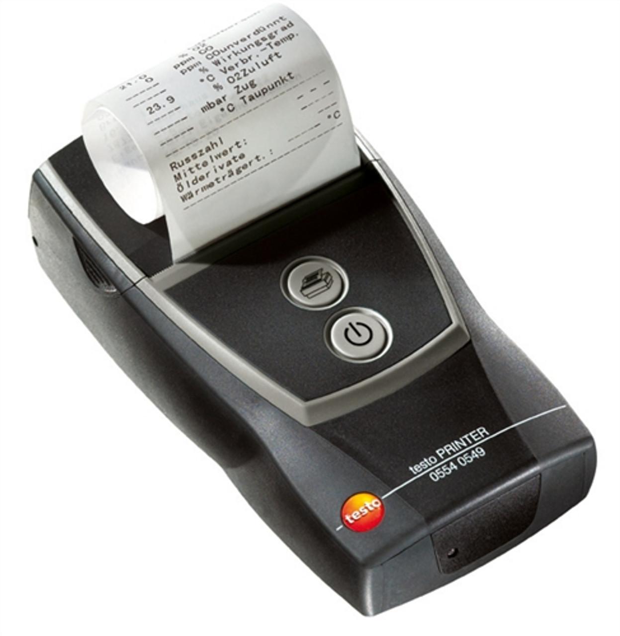 Testo Fast IR Printer 0554 0549