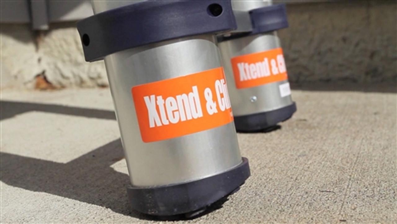 Xtend & Climb 300lb Rated 12.5' Telescoping Ladder Pro Series