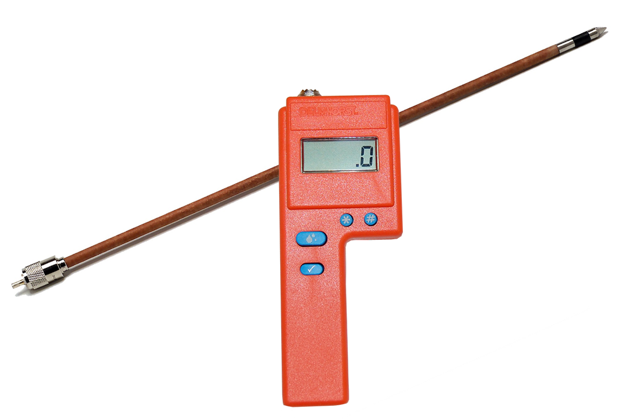 """Delmhorst F2000 Value Package Hay Moisture Meter with 18"""" 1235 Prod"""