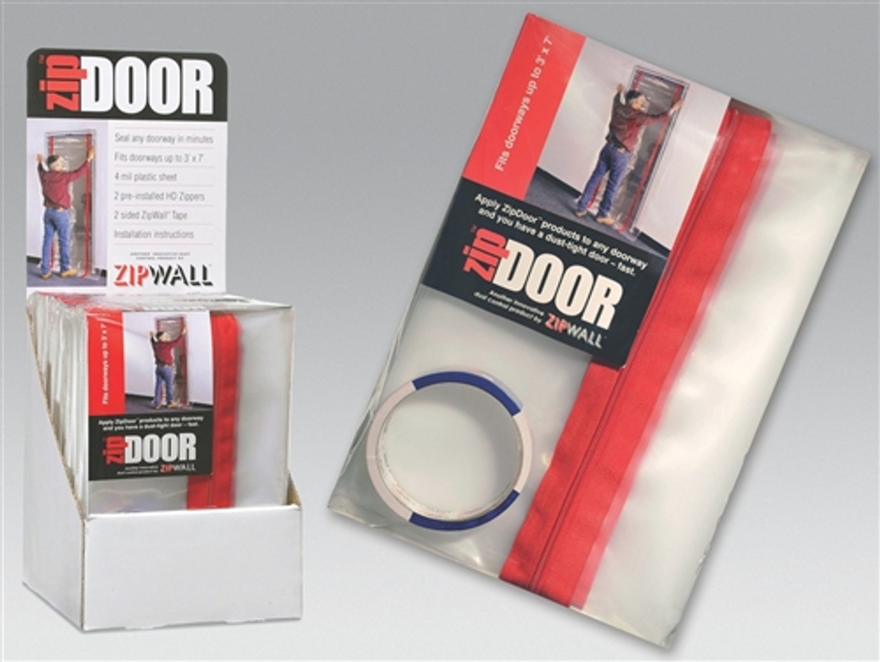 ZipWall® ZipDoor Regular (Case Pack of 6)