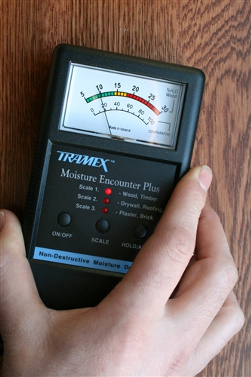 TRAMEX MEP, Moisture Encounter PLUS, Non-destructive Moisture Meter