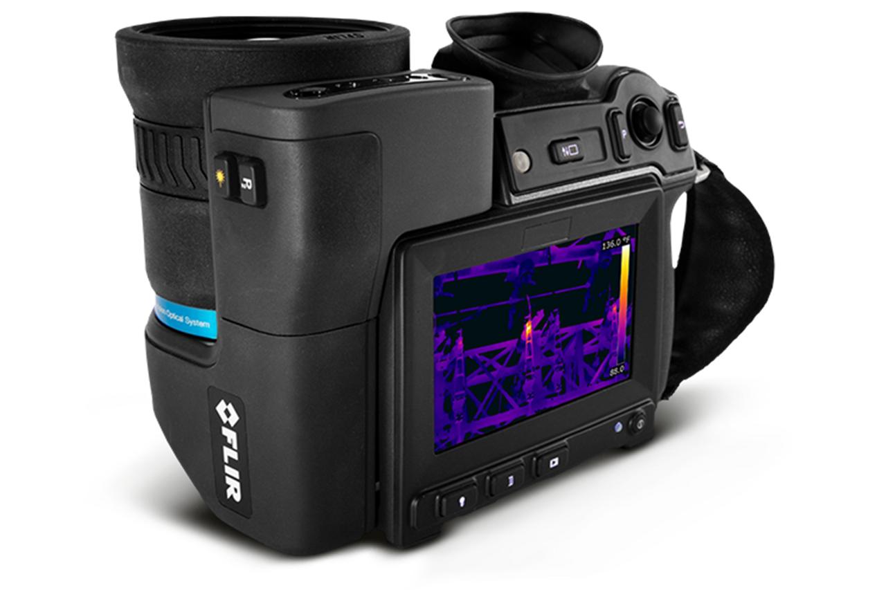 FLIR T1020 IR Camera 1024 x 768 Resolution/30Hz w/12° Lens - 72501-0101