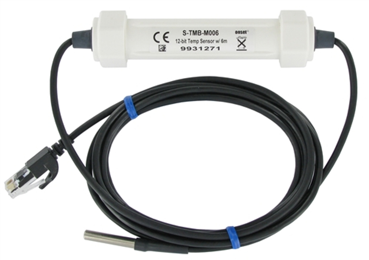 Onset Smart Temp Sensor 12-bit w/ 6m Cable - S-TMB-M006
