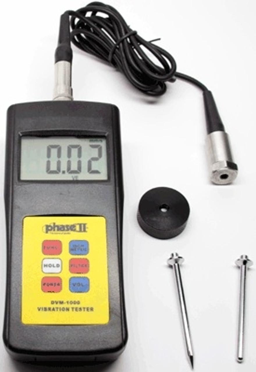 Phase II Digital Vibration Tester - DVM-1000