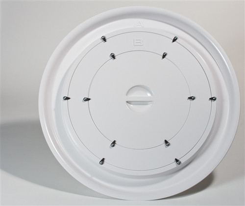 The Energy Conservatory Rings A/B and No Flow Plate for Blower Door Fan Model 3 - LFRINGS