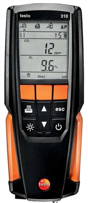 Testo 310 Combustion Analyzer Kit w/ Printer Residential 0563 3110