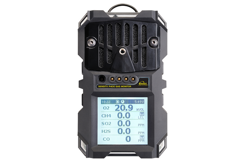 Sensit® P400 WITHOUT Pump 4 Gas (LEL, CO, O2, H2S) 923-00000-40