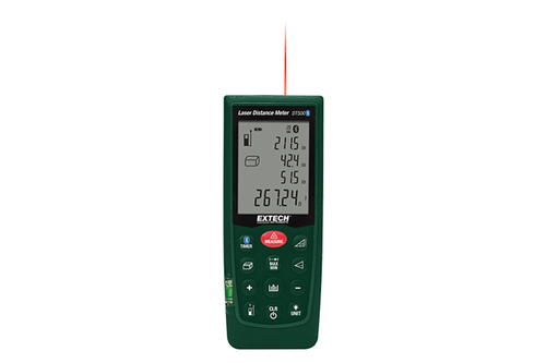 Extech DT500 Laser Distance Meter with Bluetooth®
