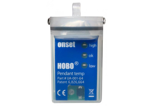 Onset HOBO Pendant Temp/Alarm, 64K - UA-001-64