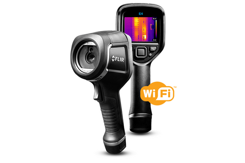 FLIR E4 Infrared Camera 80x60 with WiFi - 63906-0604