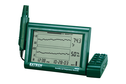 Extech Paperless Humidity & Temperature Chart Recorder