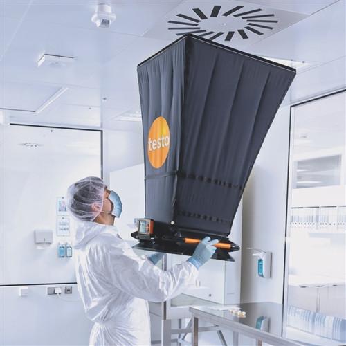 Testo 420 Flow hood kit and meter w/NIST certificate 400563 4200