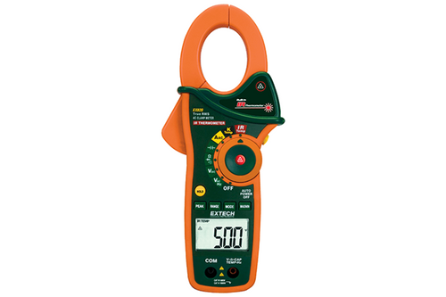 Extech 100A AC True RMA Clamp/DMM+IR Thermometer