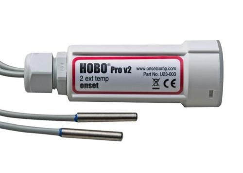 Onset HOBO Pro v2 Outdoor External 2x 6 ft Ext Temp - U23-003