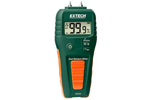 Extech MO55W Wireless Datalogging Pin/Pinless Moisture Meter