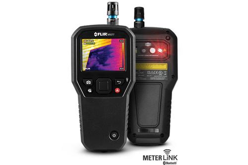 FLIR MR277 Building Inspection System w/ Moisture Psychrometer & MSX 160x120 IR Camera