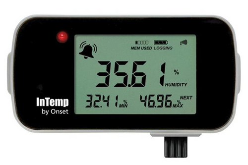 Onset InTemp CX450 Cold Chain Temp/Relative Humidity Data Logger Bluetooth Low Energy - CX450