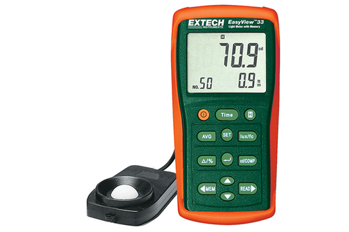 Extech Easyview Light Meter with Memory