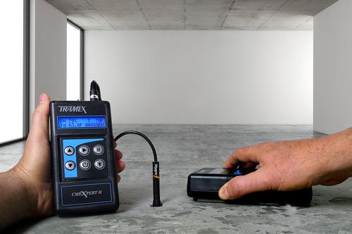 Tramex CMEXpert II Digital Concrete Moisture Meter - CMEX 2