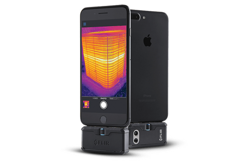 FLIR ONE Pro (USB-C for Android) w/MSX 160 x 120 Resolution/9Hz Pro-grade Thermal Camera for Smart Phones - 435-0007-03