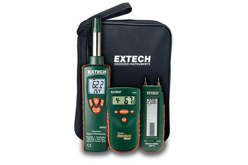 Extech MO280 Pinless Moisture Meter Water Damage Restoration Kit