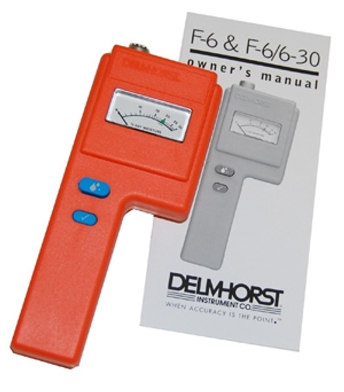 Delmhorst F-6/6-30 Hay Moisture Meter (Instrument ONLY! No Probes/Prods or handles.)