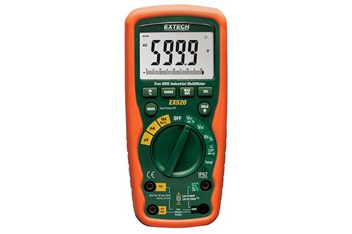 Extech 500 Series True RMS Industrial MultiMeter