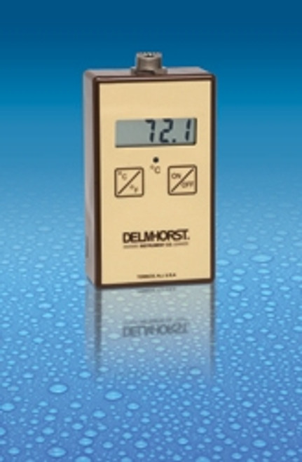 Delmhorst TM-100 Digital Thermometer with carrying case