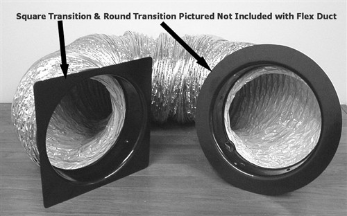 The Energy Conservatory Flex Duct for Minneapolis Duct Blaster System DUCTFLEX-25 (25 Feet)