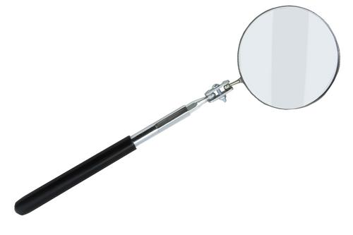 """3.25"""" Telescoping Circular Glass Inspection Mirror"""