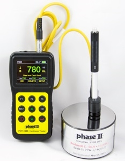 Phase II Portable Hardness Tester PHT-1900