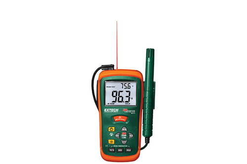Extech Hygro-Thermometer & InfraRed Thermometer