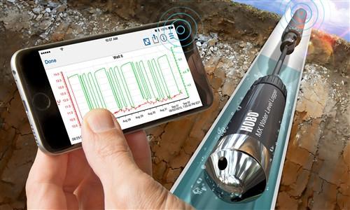 Onset HOBO Bluetooth (BLE) Water Level Data Logger - MX2001-02 (Stainless Steel) - 30 Meter (100') range