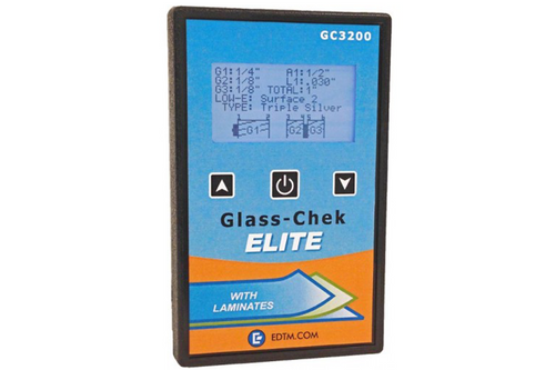 EDTM GC3200 Glass-Chek ELITE Glass & Air with Low E (+ multiple applications)