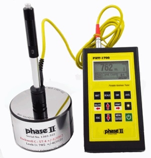 Phase II Portable Hardness Tester PHT-1700