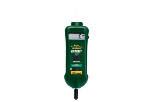 Extech Combination Contact/Laser Photo Tachometer