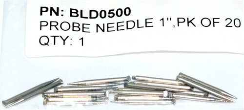 "Protimeter Replacement pin needles 1"" (20pack) - BLD0500"