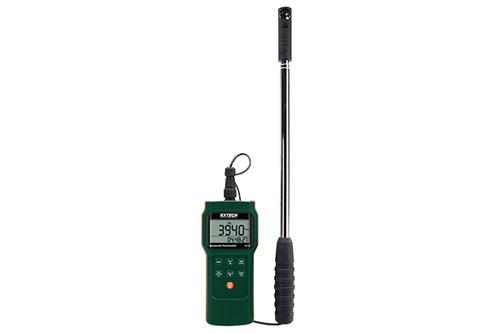 Extech Mini Vane Anemometer/Psychrometer/Logger - AN340