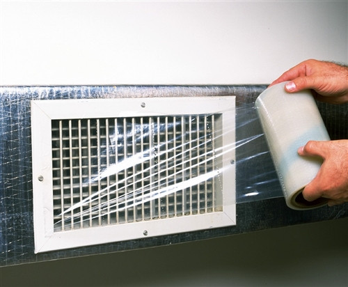 """The Energy Conservatory 6-pk Duct Register Sealing Film 8"""" wide x 200'"""