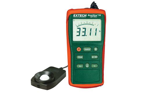 Extech Easyview Wide Range Light Meter