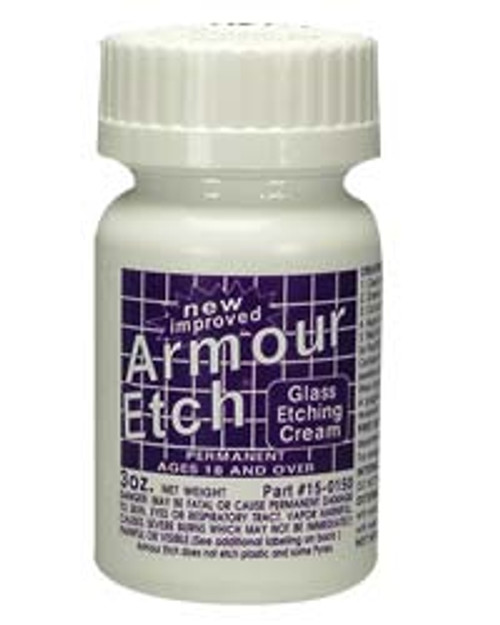 2.8oz Armour Etch Glass Etching Cream
