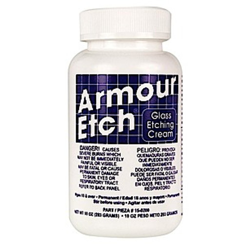 10oz Armour Etch Glass Etching Cream