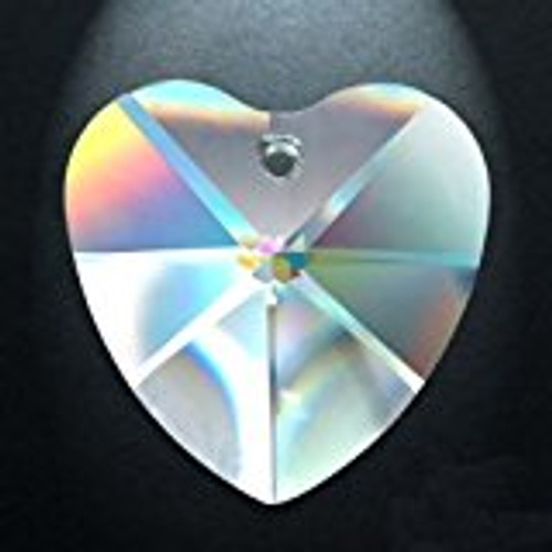 Asfour 870 Heart Clear Crystal Prisms-2 sizes