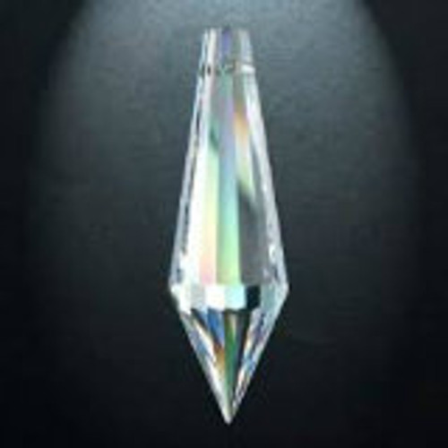 Asfour 432 Icicle 38mm Clear Crystal Prisms