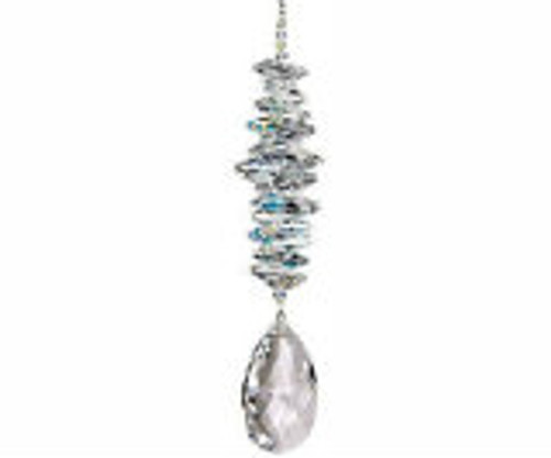 Woodstock Chimes Crystal Grand Cascade- Ice