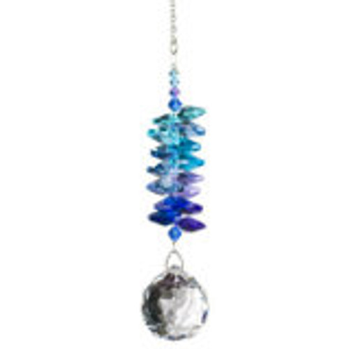 Woodstock Chimes Crystal Grand Cascades-Moonlight