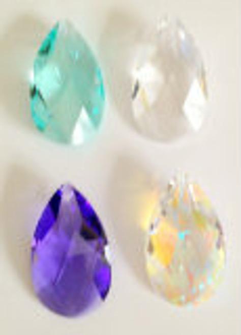 Swarovski Strass 38mm Teardrop crystal Prisms
