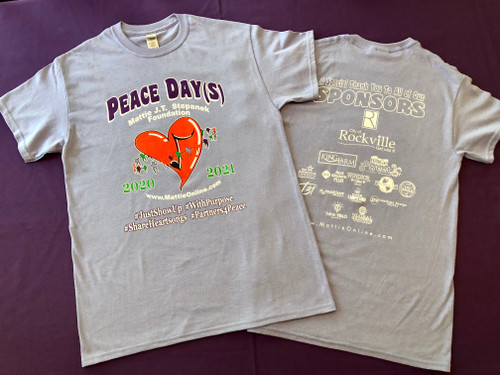 Peace Day(s) 2020-2021 T-shirt