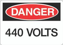 Danger Sign - 440 VOLTS